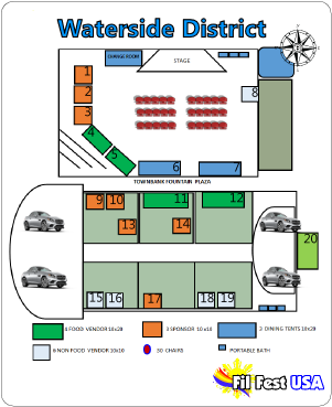 map of vendors